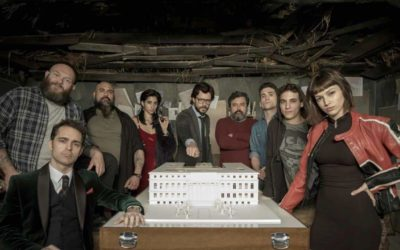 Detecting Europeanness: La Casa de Papel
