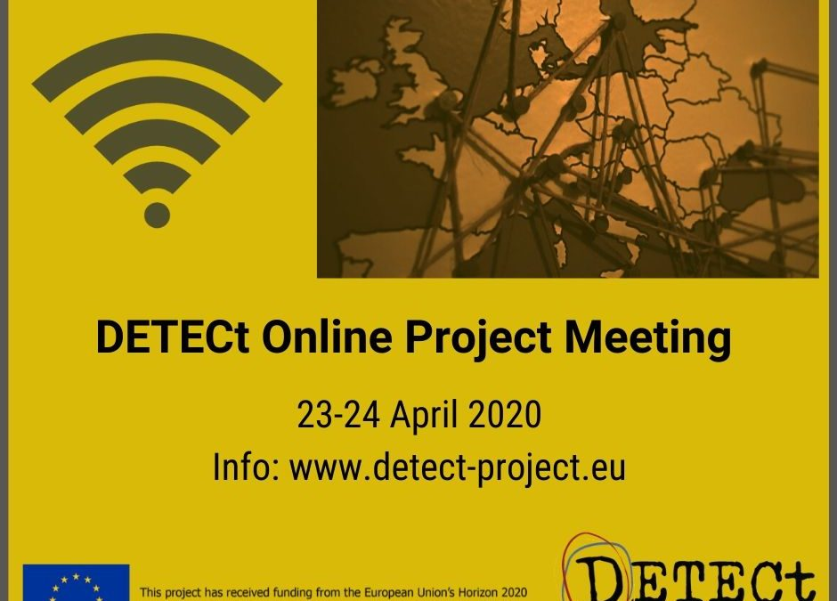DETECt moves online to hold the second project's meeting