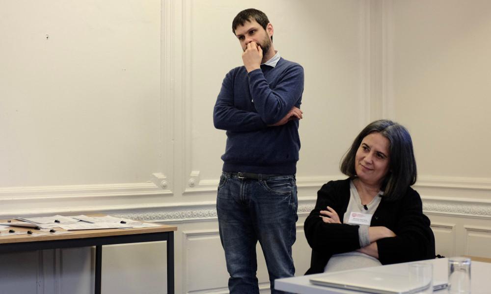 Monica Dall'Asta and Federico Pagello (UNIBO)