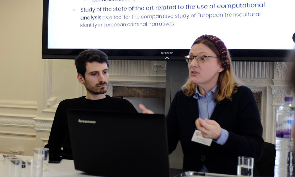 Ilaria Bartolini and Andrea Di Luzio (UNIBO)