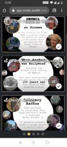 DETECt web-app