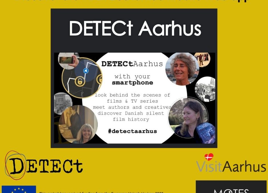 DETECt Aarhus with your smartphone